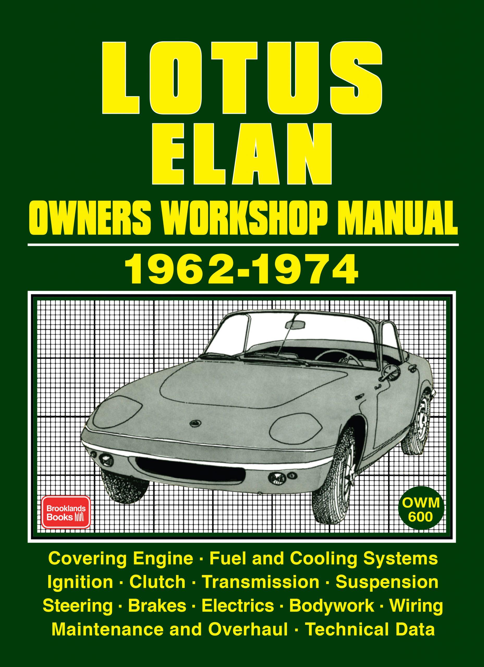 Lotus Elan Owners Workshop Manual1962